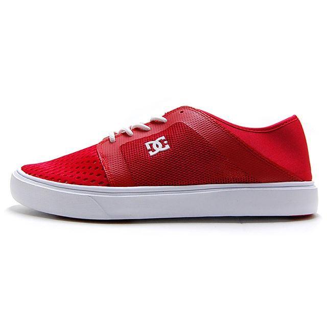 【30%OFF SALE】 ディーシー シューズ DC SHOES スニーカー メンズ TRASE LITE RED / WHITE 水陸両用スニーカー DM181603-RED