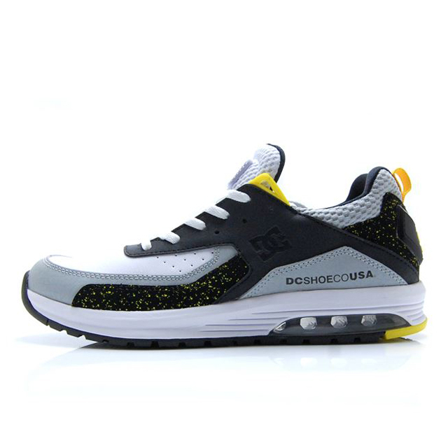 ディーシー シューズ DC SHOES VANDIUM SE BLACK/GREY/YELLOW メンズ スニーカー DM192001-XKSY