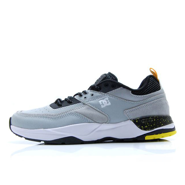 ディーシー シューズ DC SHOES E.TRIBEKA SE BLACK/GREY/YELLOW メンズ スニーカー DM192002-XKSY
