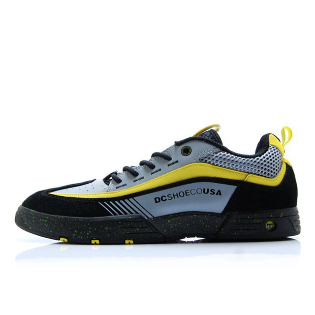 ディーシー シューズ DC SHOES LEGACY 98 SLIM SE BLACK/GREY/YELLOW メンズ スニーカー DM192003-XKSY