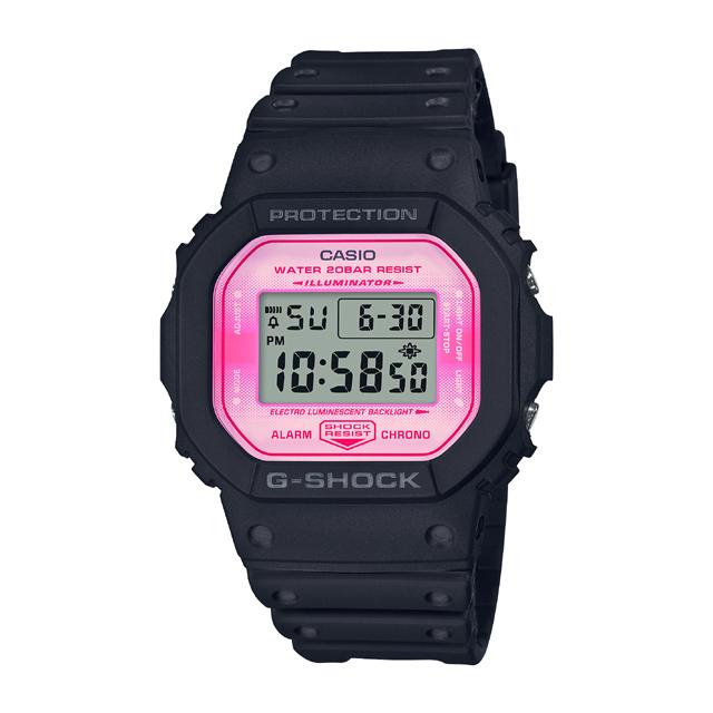 G-SHOCK ジーショック CASIO カシオ メンズ 腕時計 SAKURASTORM SERIES DW-5600TCB-1JR [G-SHOCK/ジーショック/桜/防水/限定]
