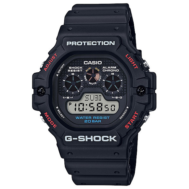 G-SHOCK ジーショック CASIO カシオ メンズ 腕時計 DW5900 DW-5900-1JF [G-SHOCK/ジーショック/防水/腕時計]