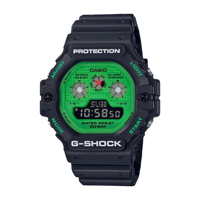 G-SHOCK ジーショック CASIO カシオ メンズ 腕時計 Hot Rock Sounds DW-5900RS-1JF [G-SHOCK/ジーショック/腕時計/防水/RockMusic]