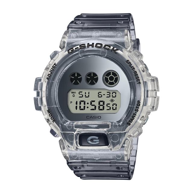 G-SHOCK ジーショック CASIO カシオ メンズ 腕時計 Super Clear Skeiton Color DW-6900SK-1JF [G-SHOCK/ジーショック/腕時計/防水]