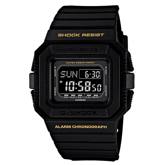 G-SHOCK ジーショック CASIO カシオ メンズ 腕時計 DW-D5500-1BJF [デジタル/20気圧防水/国内正規販売店/Authorized Dealer]