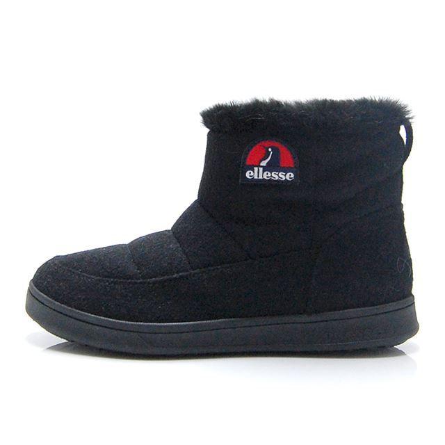 エレッセ エットーレ ウインターブーツミッド ellesse HERITAGE Ettore Winter Boots Mid ブラック EFH8323-K