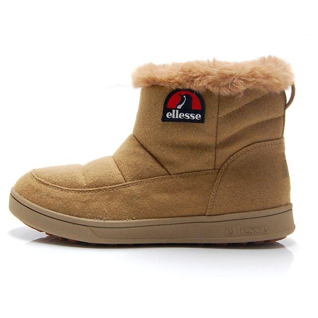 エレッセ エットーレ ウインターブーツミッド ellesse HERITAGE Ettore Winter Boots Mid ライトブラウン EFH8323-LB