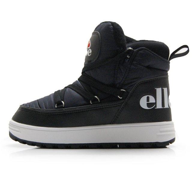 エレッセ ヘリテージ ボルミオ ブーツ ミッド ellesse HERITAGE Heritage Bormio Boots Mid ブラック レディース ブーツ 保温 防滑 EFH9323-K