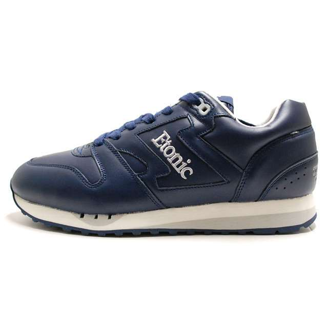 Etonic エトニック メンズ スニーカー TRANS AM LEATHER NAVY/SILVER EML14F-12-112 [国内正規販売店/Authorized Dealer]