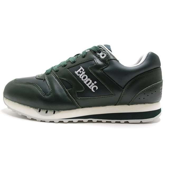 Etonic エトニック メンズ スニーカー TRANS AM LEATHER GREEN/SILVER EML14F-12-113 [国内正規販売店/Authorized Dealer]