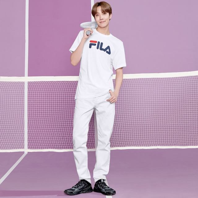 フィラ BTS J-Hope ホソク RGB フレックス FILA RGB FLEX ブラック / グレイ レディース スニーカー Born To Shine 防弾少年団 F2076-0004