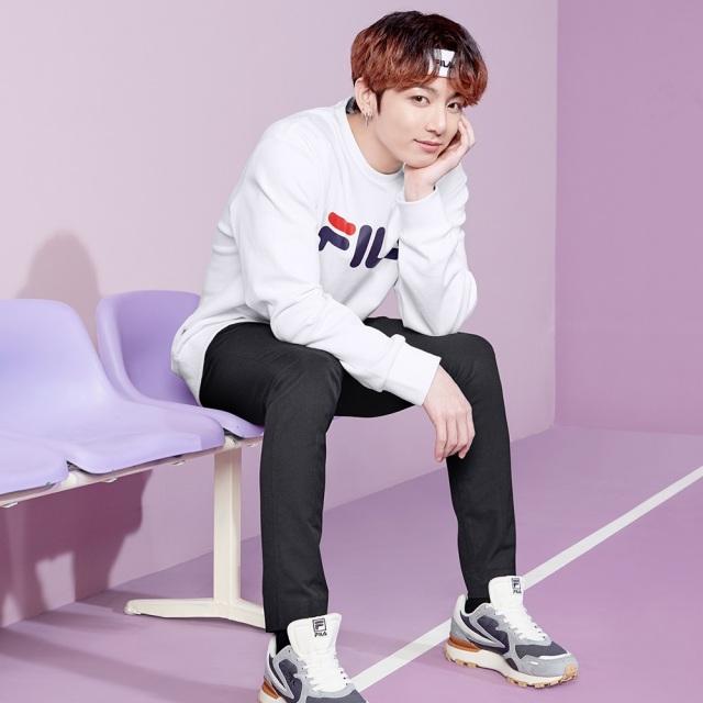 フィラ BTS JungKook ジョングク ザガート FILA ZAGATO GRY レディース メンズ スニーカー Born To Shine 防弾少年団 F5157-0050