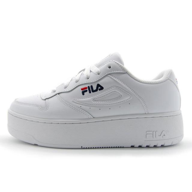 フィラ FILA FX-115 DSX White / F-Navy / Red レディース スニーカー 5FM01162-125
