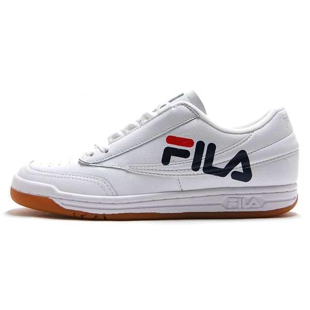 フィラ FILA スニーカー オリジナル テニス ロゴ White/Navy/Red FHE116-01