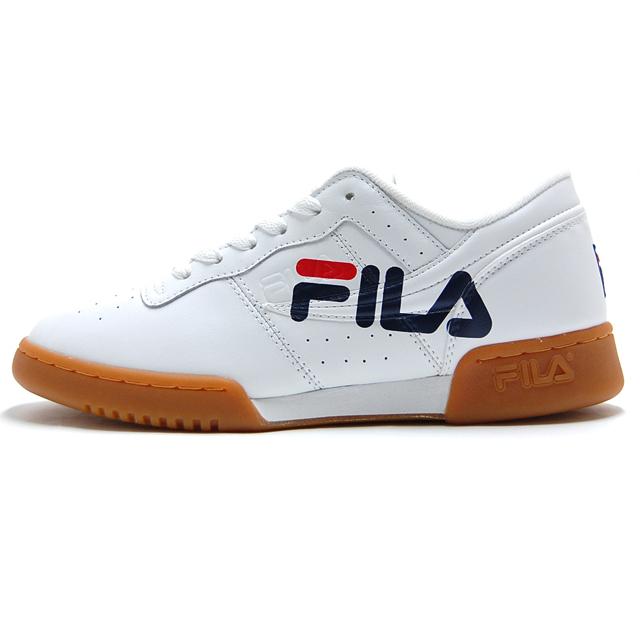 フィラ FILA メンズ スニーカー オリジナル フィットネス ロゴ White/Navy/Red FHE117-01