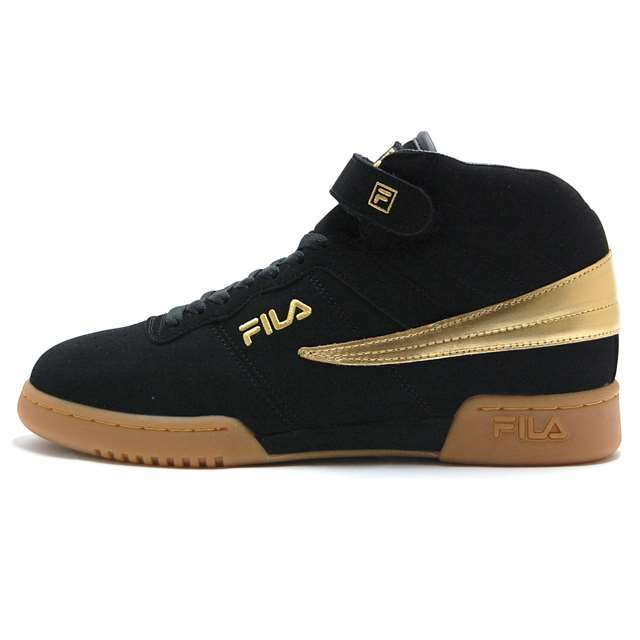 フィラ FILA スニーカー F-13 GOLD Black/Gold ブラック ゴールド FHE127-01