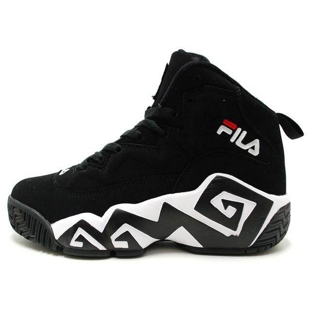 FILA フィラ メンズ レディース スニーカー MB BLACK FHE102-01 [スポーティー/ストリート/カジュアル/ミッドカット/ユニセックス]