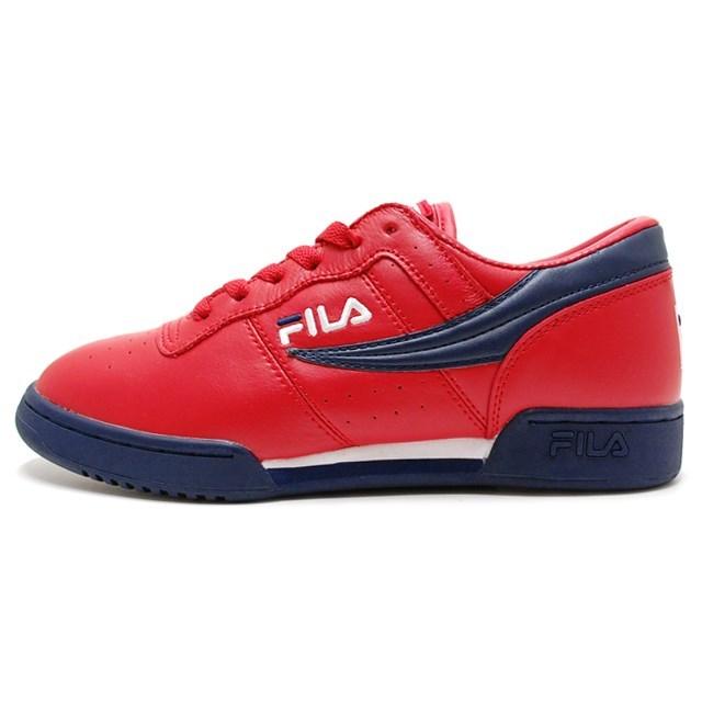 FILA フィラ メンズ レディース スニーカー Original Fitness オリジナル フィットネス RED/NAVY/WHITE FHE104-136 [スポーティー/ストリート/カジュアル]