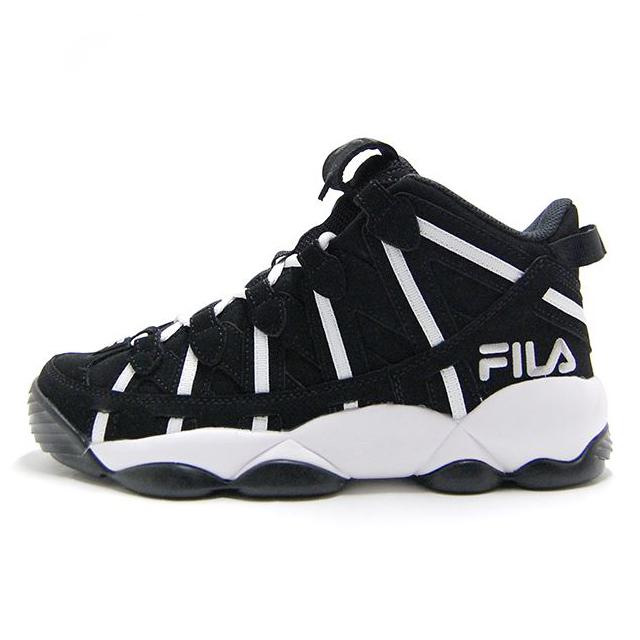 フィラ FILA スニーカー メンズ スパゲティー SPAGHETTI BLACK-WHITE ジェリー・スタックハウス シグネーチャーモデル ブラック F0206-0019