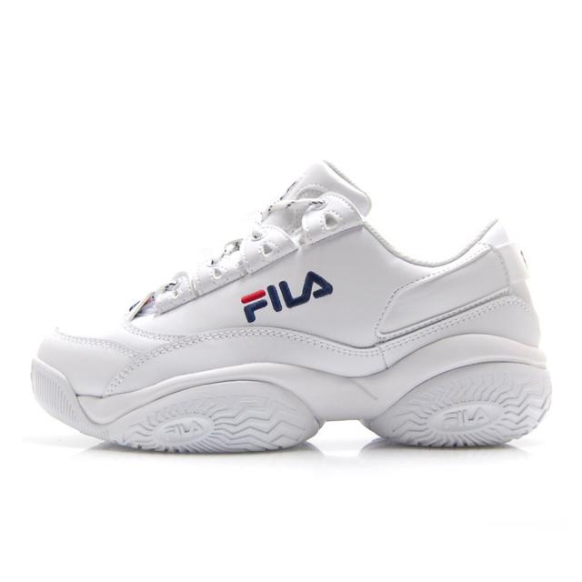 フィラ プロヴィナンス FILA PROVENANCE ホワイト/ネイビー/レッド メンズ スニーカー F0400-0125