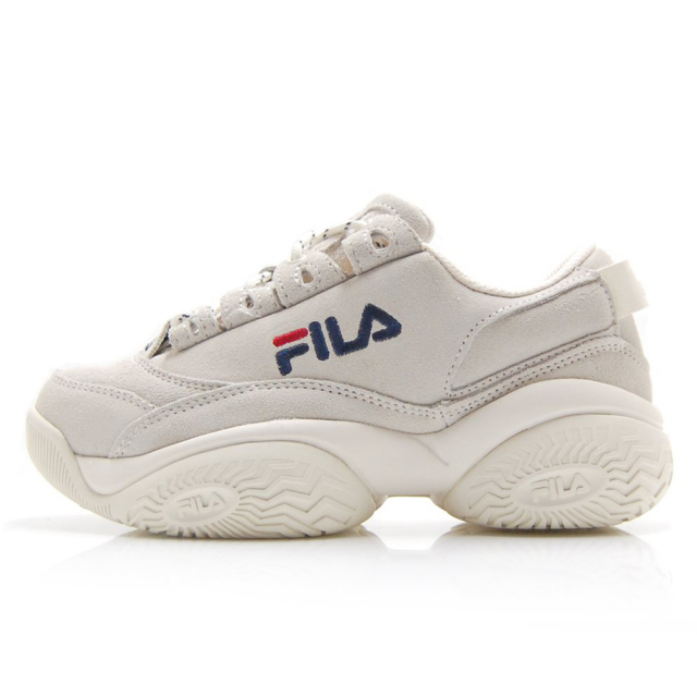 フィラ プロヴィナンス FILA PROVENANCE オフ ホワイト/ネイビー/レッド レディース スニーカー F0401-0126