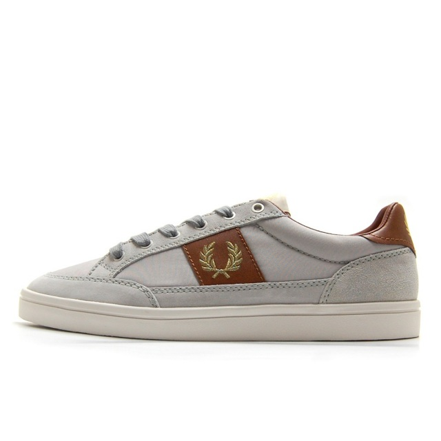 【SALE】 フレッドペリー FREDPERRY DEUCE POLY / SUEDE / LEATHER DOLPHIN / METALLIC GOLD メンズ スニーカー B9109-432