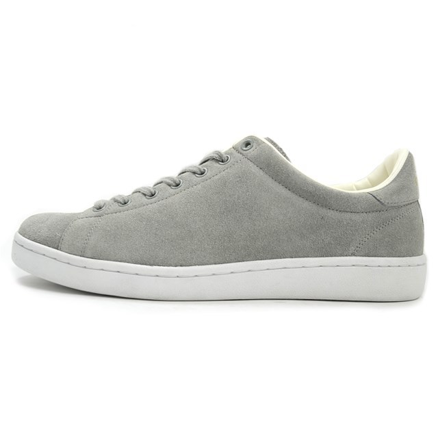 FRED PERRY フレッドペリー メンズ レディース スニーカー BREAUX SUEDE Grey グレー F19737-30 [スエード/ローカット/ユニセックス/MADE IN JAPAN/日本製/国内正規販売店/Authorized Dealer]