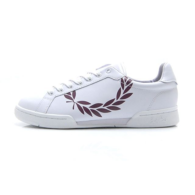 フレッドペリー FREDPERRY PRINTED LAUREL LEATHER B4111-134