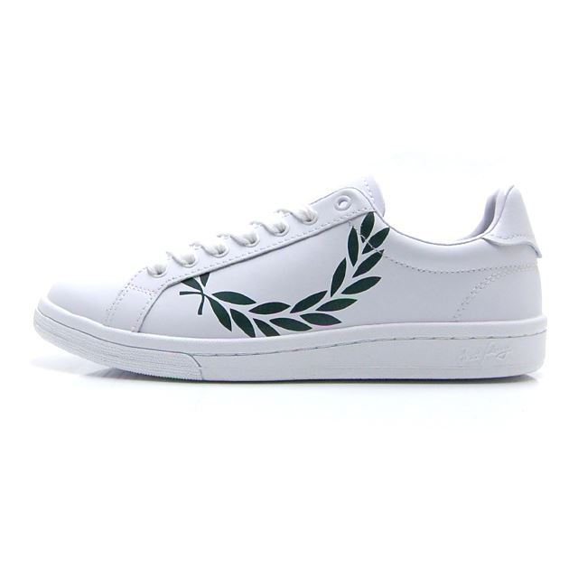 フレッドペリー FREDPERRY PRINTED LAUREL LEATHER B4231-100