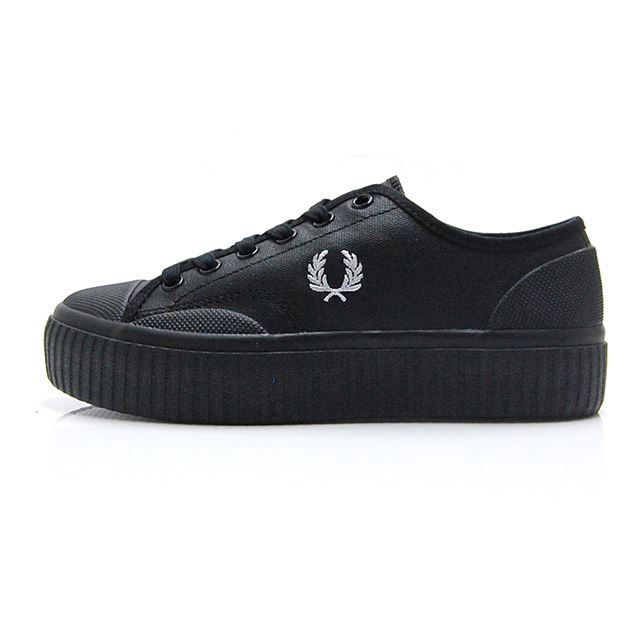 フレッドペリー FREDPERRY HUGHES FLATFORM LOW COATED CAN B4331W-102