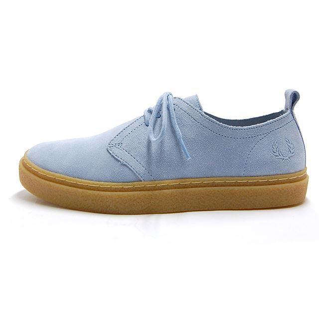 フレッドペリー FREDPERRY スニーカー メンズ LINDEN SUEDE BLUE HAZE  ブルー B3090-605