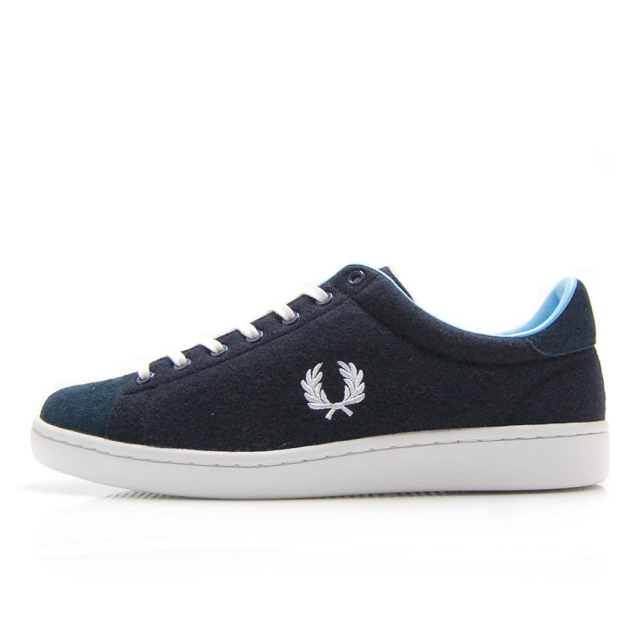 【30%OFF SALE】 フレッドペリー FREDPERRY BREAUX TEXTURED NAVY メンズ スニーカー F29648-01
