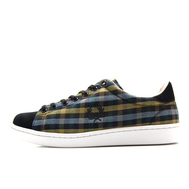 【30%OFF SALE】 フレッドペリー FREDPERRY BREAUX TEXTURED OLIVE メンズ スニーカー F29648-46