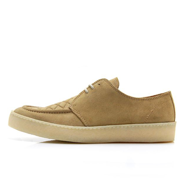 【30%OFF SALE】【送料無料】 フレッドペリー FREDPERRY FRED PERRY X GEORGE COX POP BOY SUEDE Light Ginger メンズ スニーカー B1910-H75