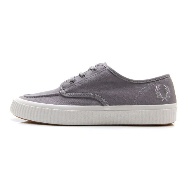 フレッドペリー FREDPERRY EALING LOW CANVAS Falcon Grey メンズ スニーカー B5183-C53