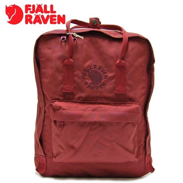 <20%OFF SALE> FJALLRAVEN フェールラーベン Re-Kanken リ カンケン Ox Red オックスレッド FR23548-326 [リュック/デイパック/2WAY/バックパック/国内正規販売店]【返品交換不可】