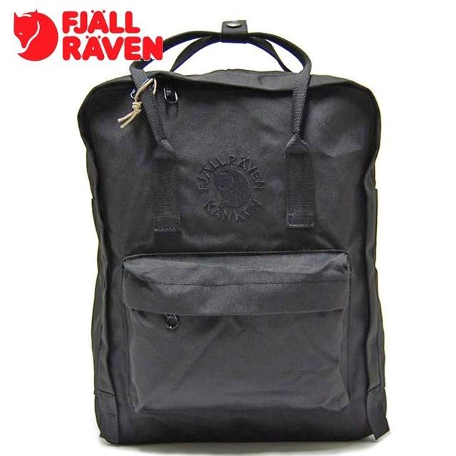 FJALLRAVEN フェールラーベン Re-Kanken リ カンケン Black ブラック FR23548-550 [リュック/デイパック/2WAY/バックパック/国内正規販売店/国内正規販売店/Authorized Dealer]