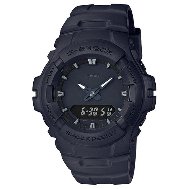 G-SHOCK ジーショック CASIO カシオ メンズ 腕時計 G-100BB-1AJF [ブラック/黒/マット/国内正規販売店/Authorized Dealer]