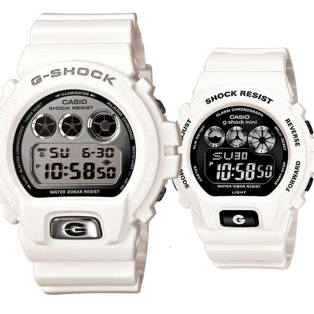 CASIO ジーショック 腕時計 ペアセレクション LOVE-ba G-SHOCK g-shock mini DW-6900mr-7JF GMN-691-7aJF