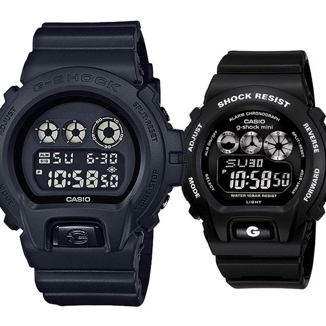 CASIO ジーショック 腕時計 ペアセレクション LOVE-bc G-SHOCK g-shock mini DW-6900BB-1JF GMN-691-1AJF