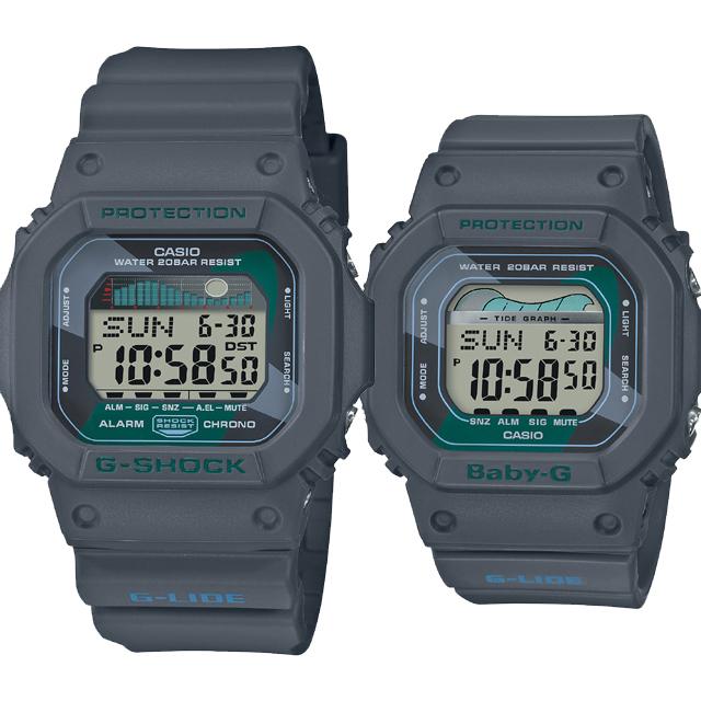 CASIO ジーショック 腕時計 ペアセレクション LOVE-BI G-SHOCK Baby-G GLX-5600VH-1JF BLX-560VH-1JF