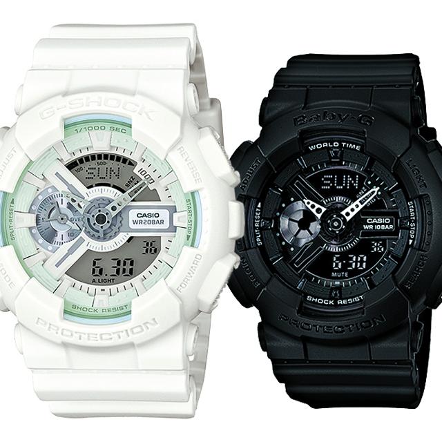 CASIO ジーショック 腕時計 ペアセレクション LOVE-BL G-SHOCK Baby-G GA-110BC-7AJF BA-110BC-1AJF