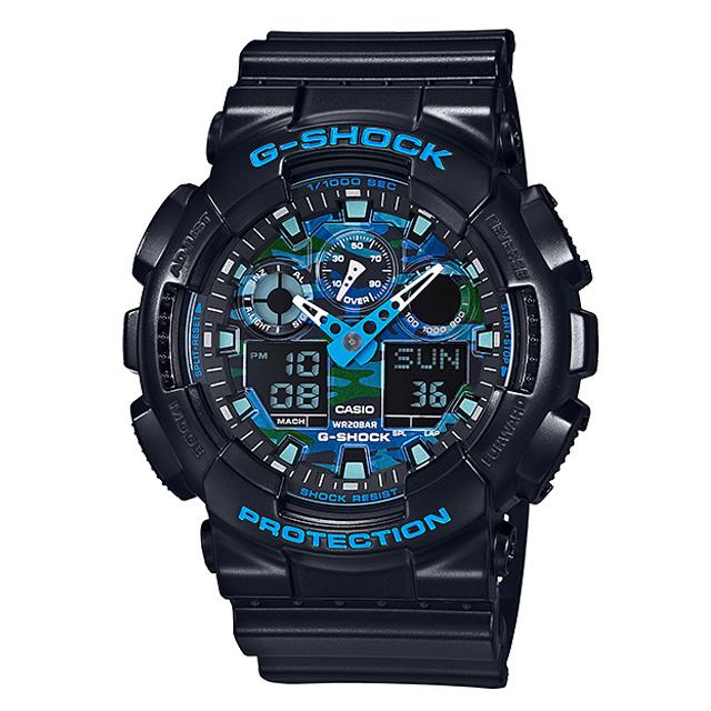 G-SHOCK ジーショック CASIO カシオ メンズ 腕時計 GA-100CB-1AJF [20気圧防水/アナログ/耐磁時計/国内正規販売店/Authorized Dealer]