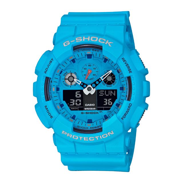 G-SHOCK ジーショック CASIO カシオ メンズ 腕時計 Hot Rock Sounds GA-100RS-2AJF [G-SHOCK/ジーショック/腕時計/防水/RockMusic]