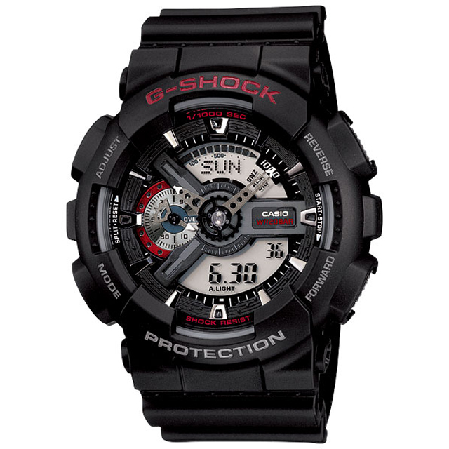 G-SHOCK ジーショック CASIO カシオ メンズ 腕時計 GA-110 GA-110-1AJF [G-SHOCK/ジーショック/防水/腕時計]