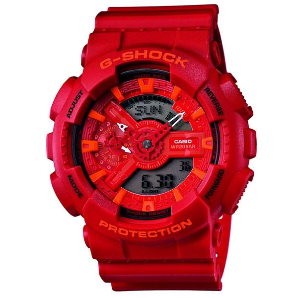 G-SHOCK ジーショック Blue and Red Series ブルー&レッドシリーズ GA-110AC-4AJF