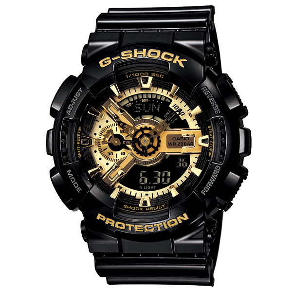 G-SHOCK ジーショック 「Black×Gold Series」 GA-110GB-1AJF