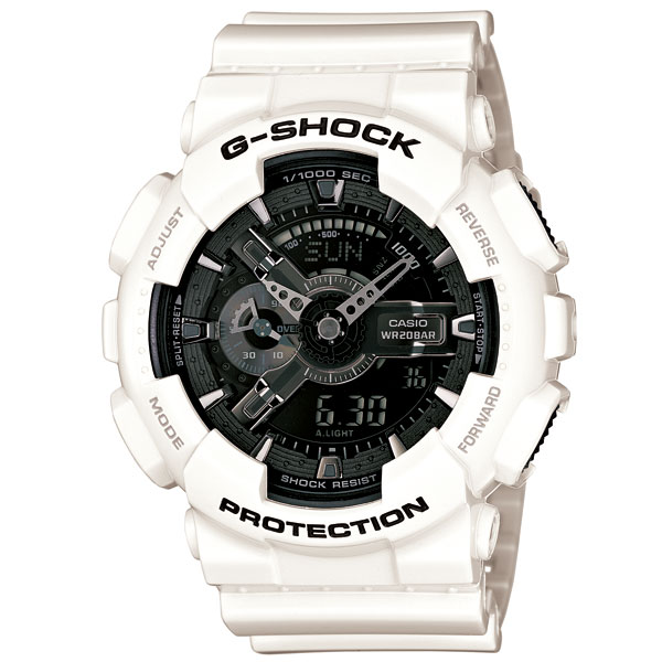 G-SHOCK ジーショック White and Black Series ホワイトアンドブラックシリーズ GA-110GW-7AJF
