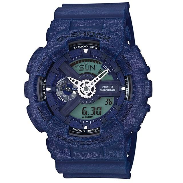 G-SHOCK ジーショック CASIO カシオ メンズ 腕時計 Heathered Color Series ヘザード・カラー・シリーズ GA-110HT-2AJF [国内正規販売店]