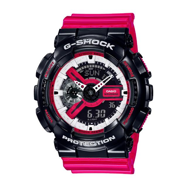 G-SHOCK ジーショック CASIO カシオ メンズ 腕時計 Red & Black GA-110RB-1AJF [G-SHOCK/ジーショック/腕時計/防水]